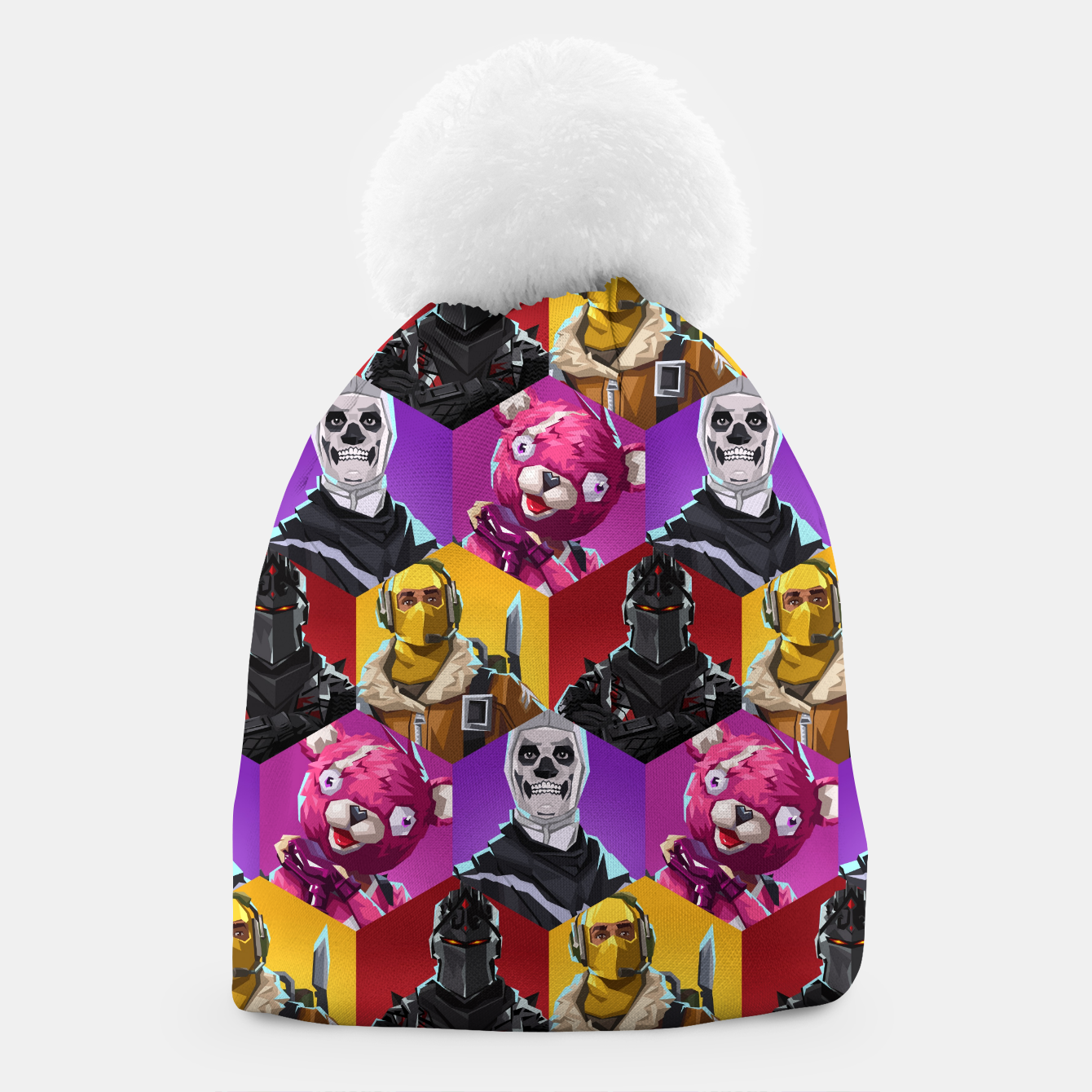 Image of FRTNT Beanie - Live Heroes