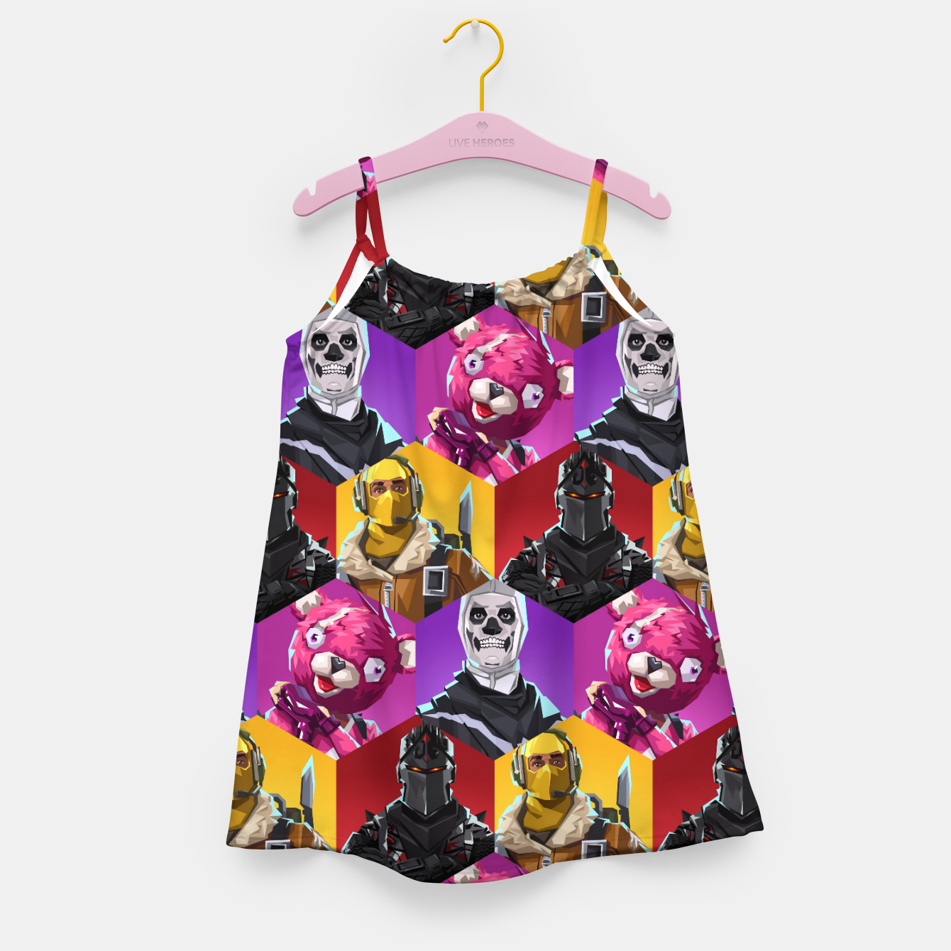 Image of FRTNT Girl's dress - Live Heroes
