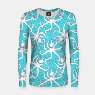 Thumbnail image of Octopuses Women sweater, Live Heroes