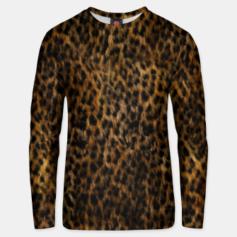 Cheetah Fur Texture Unisex sweater thumbnail image