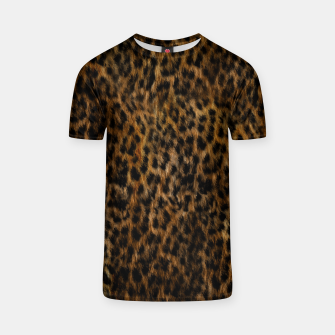 Thumbnail image of Cheetah Fur Texture T-shirt, Live Heroes