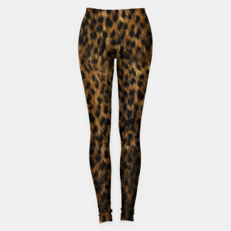 Thumbnail image of Cheetah Fur Texture Leggings, Live Heroes