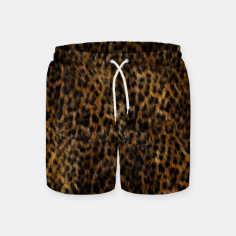Thumbnail image of Cheetah Fur Texture Swim Shorts, Live Heroes