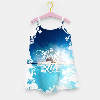 Thumbnail image of Beach Life Girl's dress, Live Heroes