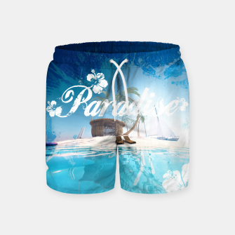 Thumbnail image of PAPADISE Swim Shorts, Live Heroes