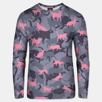 Thumbnail image of Cat Camo PINK Unisex sweater, Live Heroes