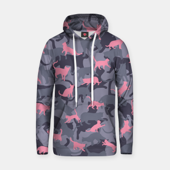 Thumbnail image of Cat Camo PINK Hoodie, Live Heroes