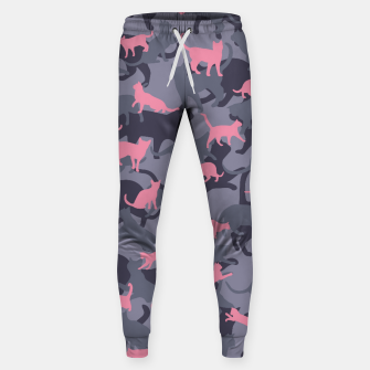 Thumbnail image of Cat Camo PINK Sweatpants, Live Heroes