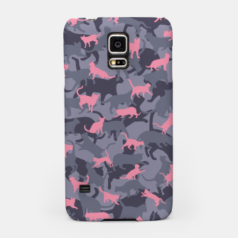 Thumbnail image of Cat Camo PINK Samsung Case, Live Heroes