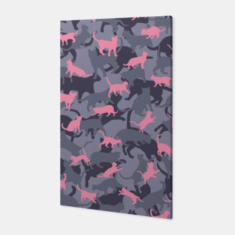 Thumbnail image of Cat Camo PINK Canvas, Live Heroes
