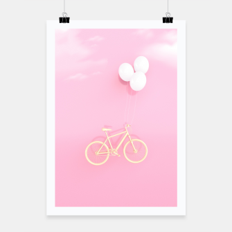 Thumbnail image of Flying Bike Poster, Live Heroes