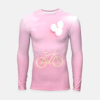 Thumbnail image of Flying Bike Longsleeve rashguard , Live Heroes