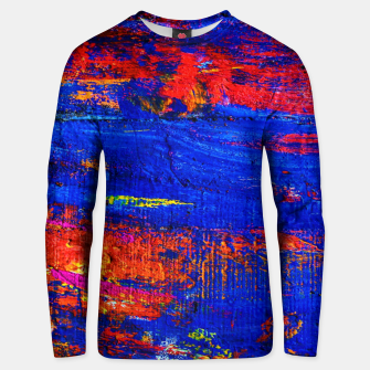 Colored Abstract Painting Artwork Unisex sweater thumbnail image