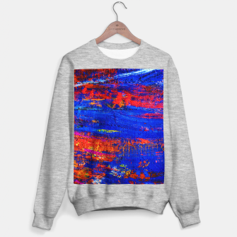 Colored Abstract Painting Artwork Sweater regular thumbnail image
