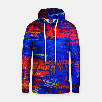 Colored Abstract Painting Artwork Hoodie thumbnail image