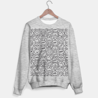 Thought Bubbles Funny Sexy Comic Illustration Sweatshirt regulär thumbnail image