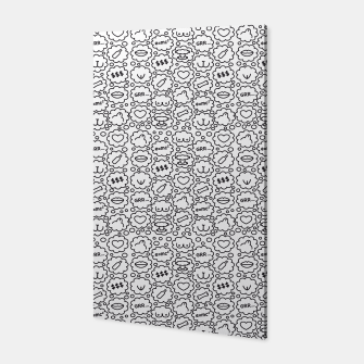 Thought Bubbles Funny Sexy Comic Illustration Canvas thumbnail image