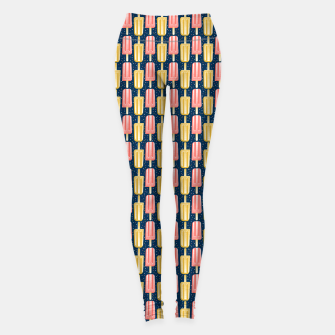Thumbnail image of Popsicle Party Stripes Leggings, Live Heroes