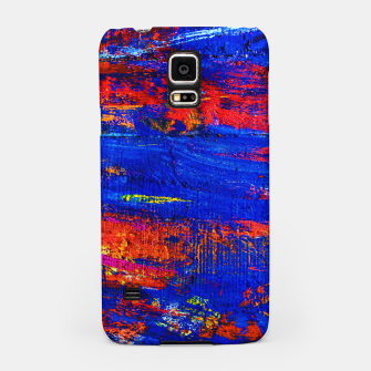 Colored Abstract Painting Artwork Samsung Case thumbnail image