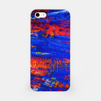 Colored Abstract Painting Artwork iPhone Case thumbnail image