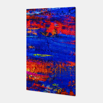 Colored Abstract Painting Artwork Canvas thumbnail image