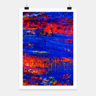 Colored Abstract Painting Artwork Poster thumbnail image
