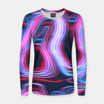 Thumbnail image of Weird Lights Pattern Women sweater, Live Heroes