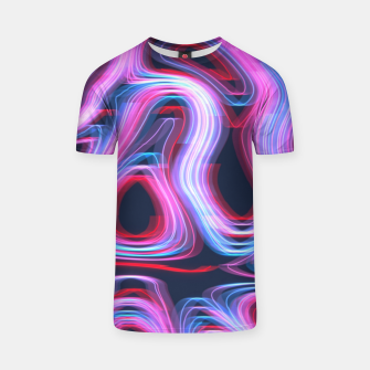 Thumbnail image of Weird Lights Pattern T-shirt, Live Heroes