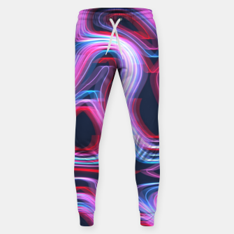 Thumbnail image of Weird Lights Pattern Sweatpants, Live Heroes