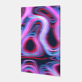 Thumbnail image of Weird Lights Pattern Canvas, Live Heroes