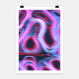 Thumbnail image of Weird Lights Pattern Poster, Live Heroes