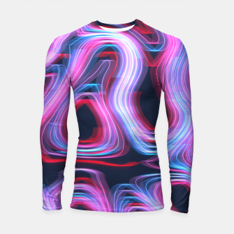 Thumbnail image of Weird Lights Pattern Longsleeve rashguard , Live Heroes