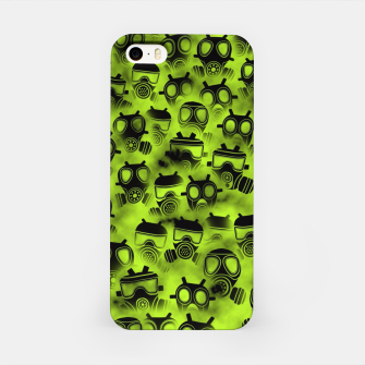 Miniatur Gas attack iPhone Case, Live Heroes
