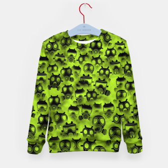 Miniatur Gas attack Kid's sweater, Live Heroes