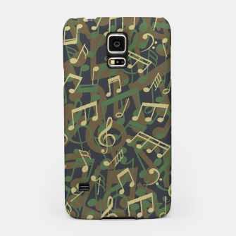 Thumbnail image of Music Note Camo WOODLAND Samsung Case, Live Heroes