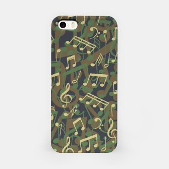 Thumbnail image of Music Note Camo WOODLAND iPhone Case, Live Heroes