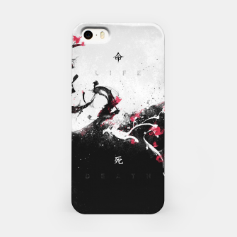 Miniatur LIFE vs DEATH iPhone Case, Live Heroes