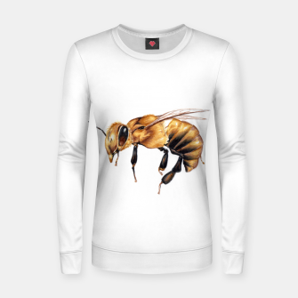 Thumbnail image of wasp Women sweater, Live Heroes