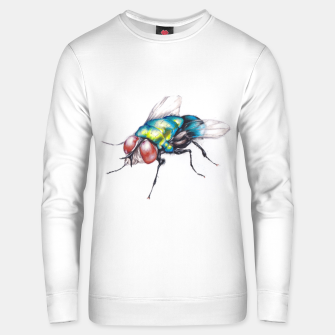 Thumbnail image of fly Unisex sweater, Live Heroes