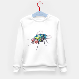 Thumbnail image of fly Kid's sweater, Live Heroes