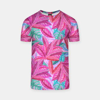 Thumbnail image of Pink Jungle T-shirt, Live Heroes