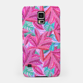Thumbnail image of Pink Jungle Samsung Case, Live Heroes