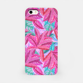 Thumbnail image of Pink Jungle iPhone Case, Live Heroes