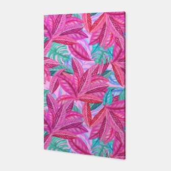 Thumbnail image of Pink Jungle Canvas, Live Heroes