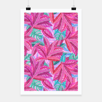 Thumbnail image of Pink Jungle Poster, Live Heroes