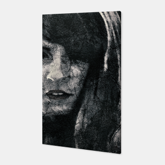 Thumbnail image of Creepy Artistic Woman Portrait Canvas, Live Heroes