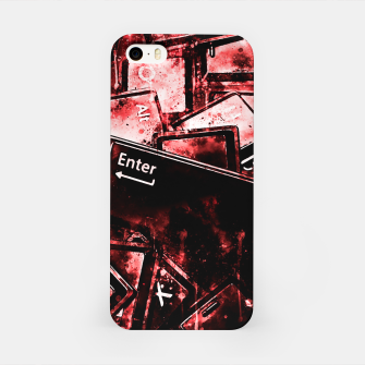 Thumbnail image of keyboard keys letters wsdr iPhone Case, Live Heroes