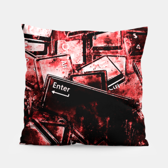 Thumbnail image of keyboard keys letters wsdr Pillow, Live Heroes
