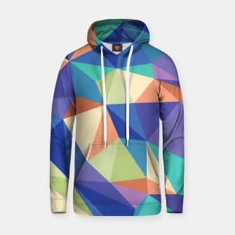Thumbnail image of Colorful geometric kaleidoscope pattern Hoodie, Live Heroes