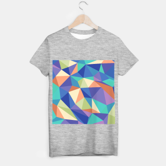 Thumbnail image of Colorful geometric kaleidoscope pattern T-shirt regular, Live Heroes